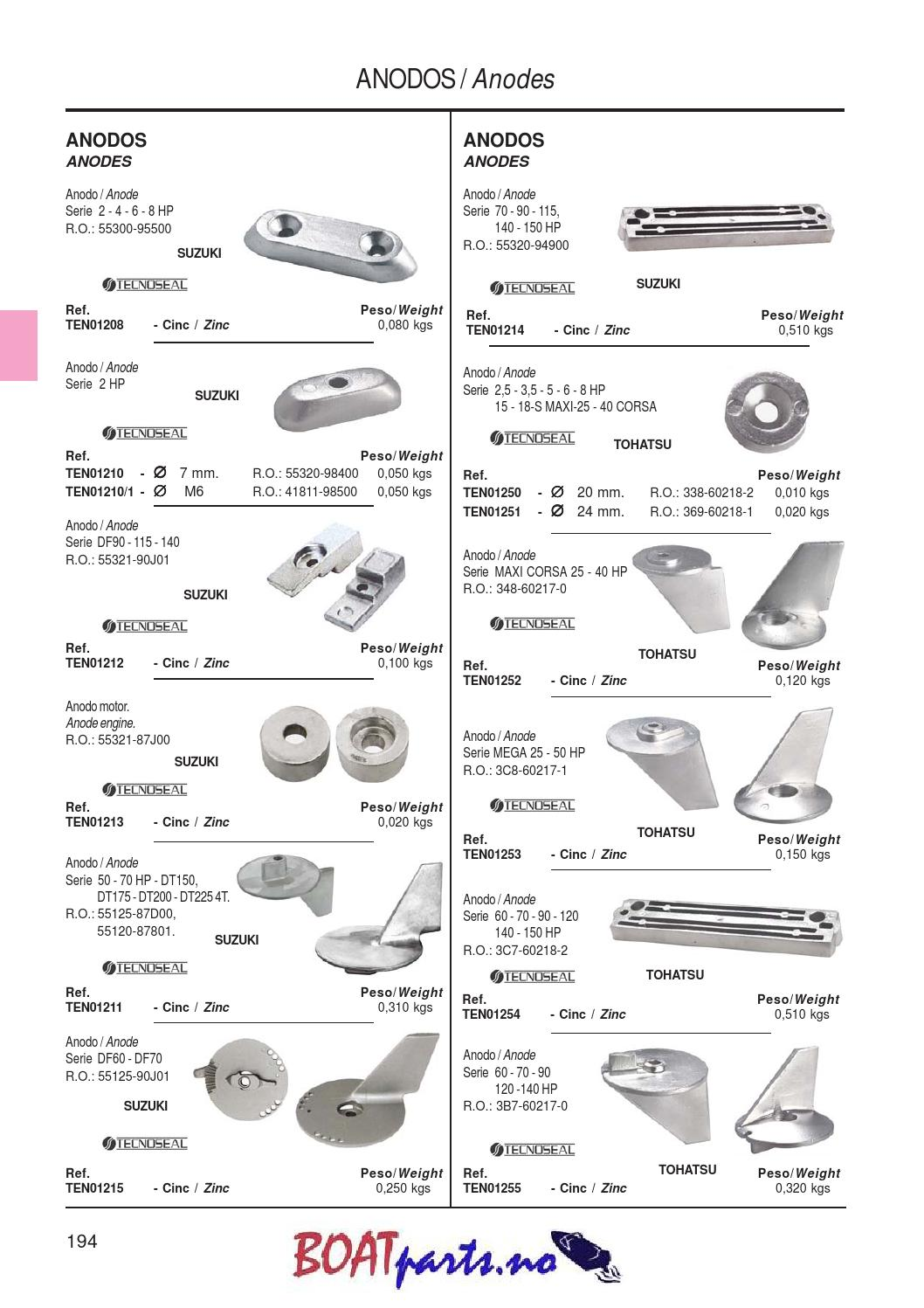 Rekvisitakatalog by Boatparts no AS - issuu