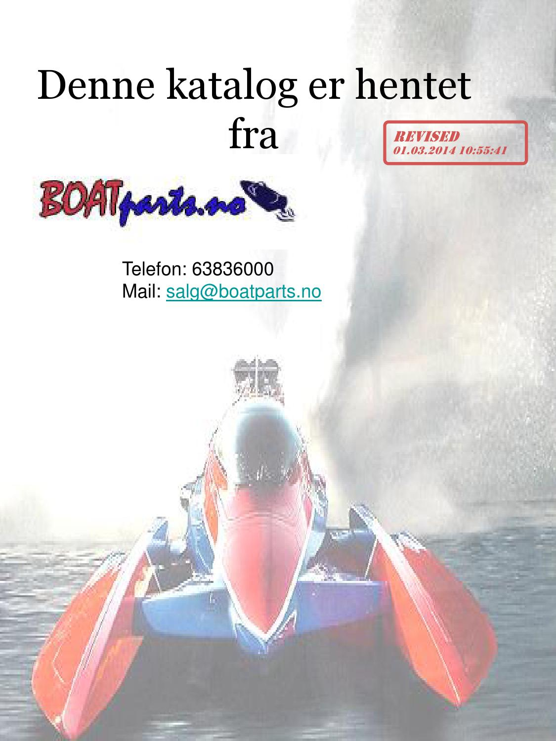 Inboard delekatalog alle merker by Boatparts.no AS - issuu on