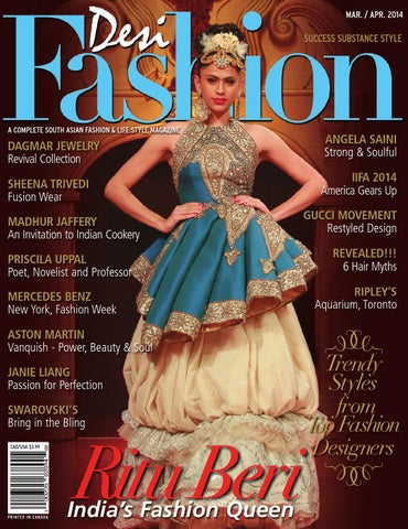 b35ccb8565 Desi Fashion Magazine March/April 2014 by Desi Fashion Magazine - issuu