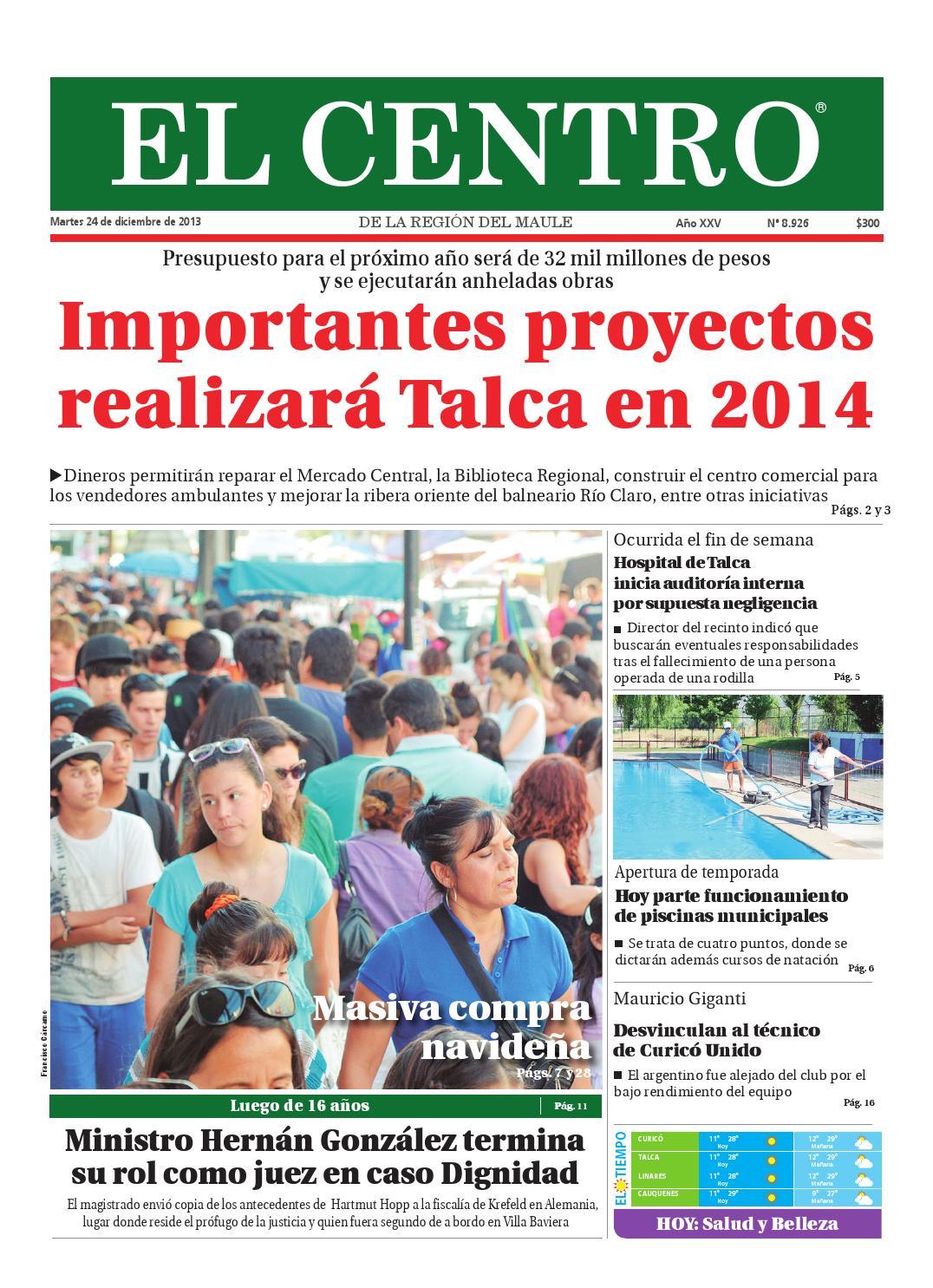 Diario 24 12 2013 By Diario El Centro S A Issuu Ya , llego el albertano , escondan a sus hermanas que se van a enamorar !!! diario 24 12 2013 by diario el centro s