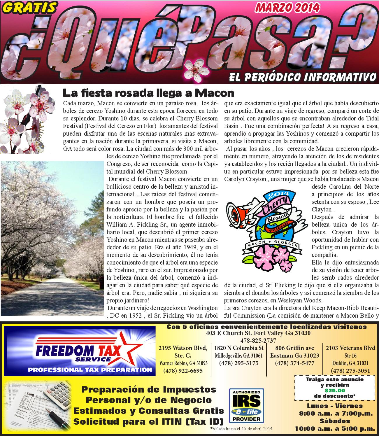 QUE PASA GA by Que Pasa Georgia - issuu