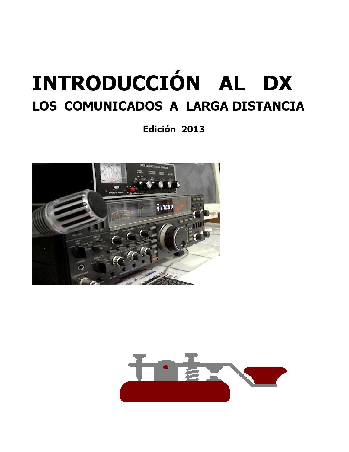 Manual introduccion al dx ediciã³n 2013 1 oct 2013 2014 by Miguel ...