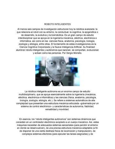 Robots inteligentes 1 by Camilo Lopez - issuu