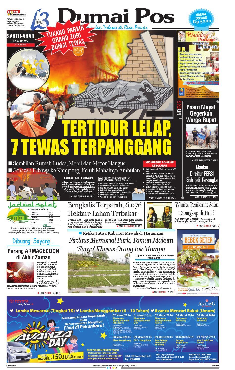 E paper by Dumai Pos   issuu