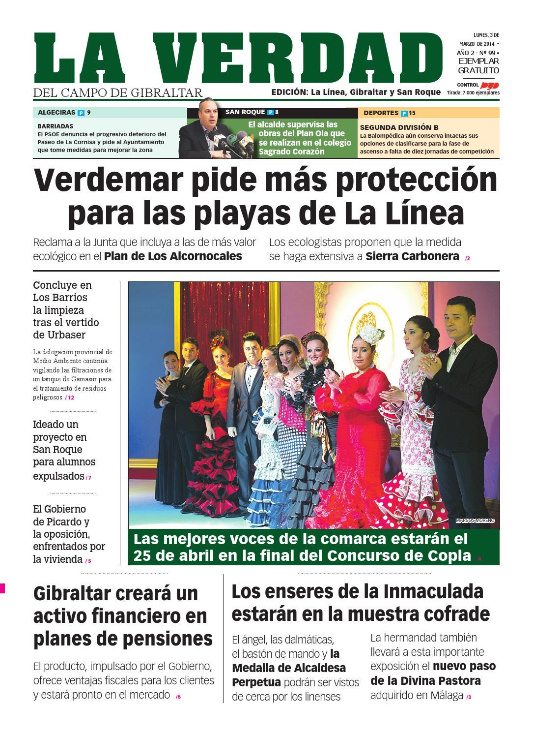 La Verdad La Linea 3 De Marzo By La Verdad Del Campo De Gibraltar  # Muebles Mebol Lucena