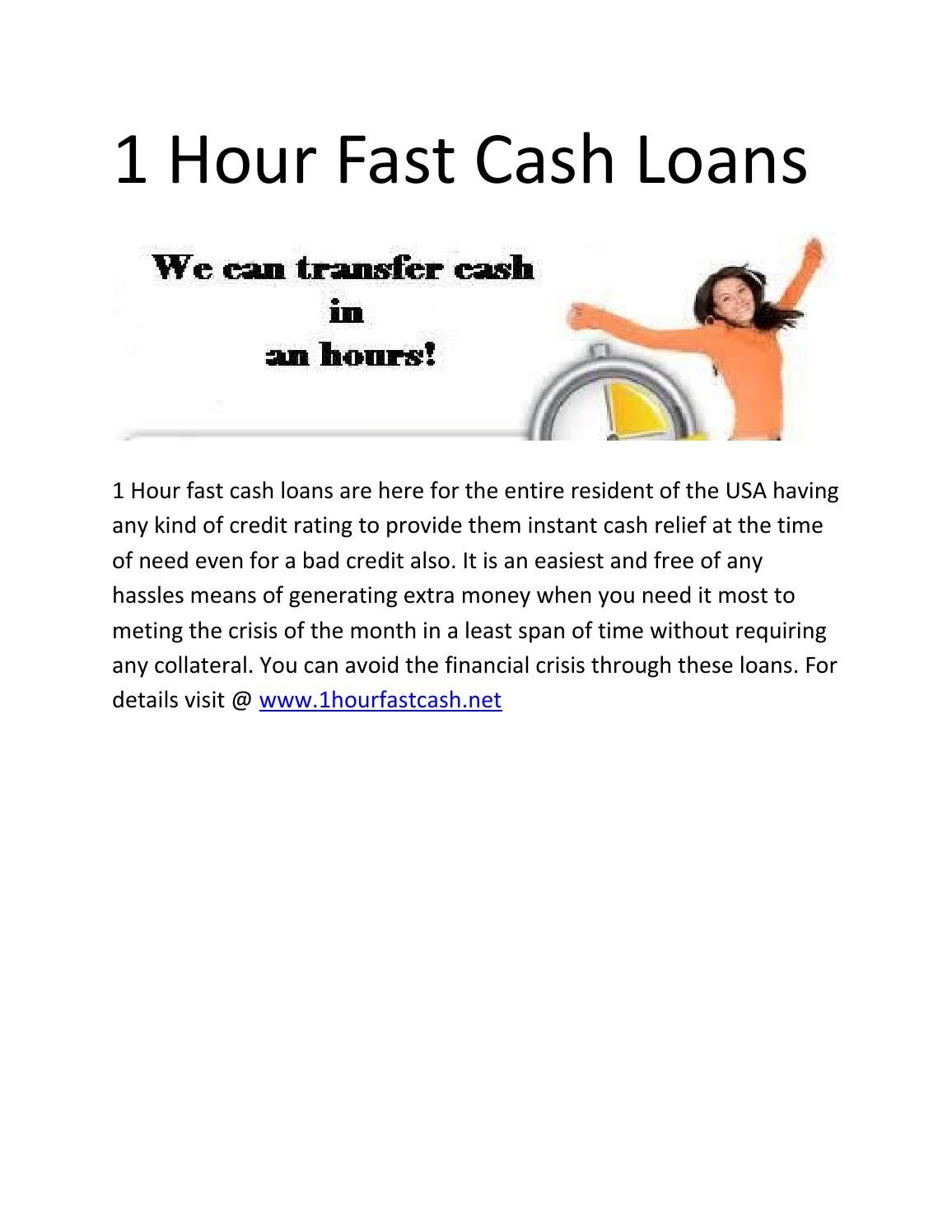 cash in 1 hour - 2