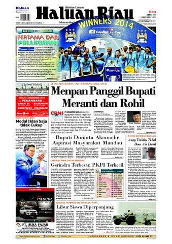 Haluanriau 2014 03 07 by Haluan Riau - issuu 6b11be5163