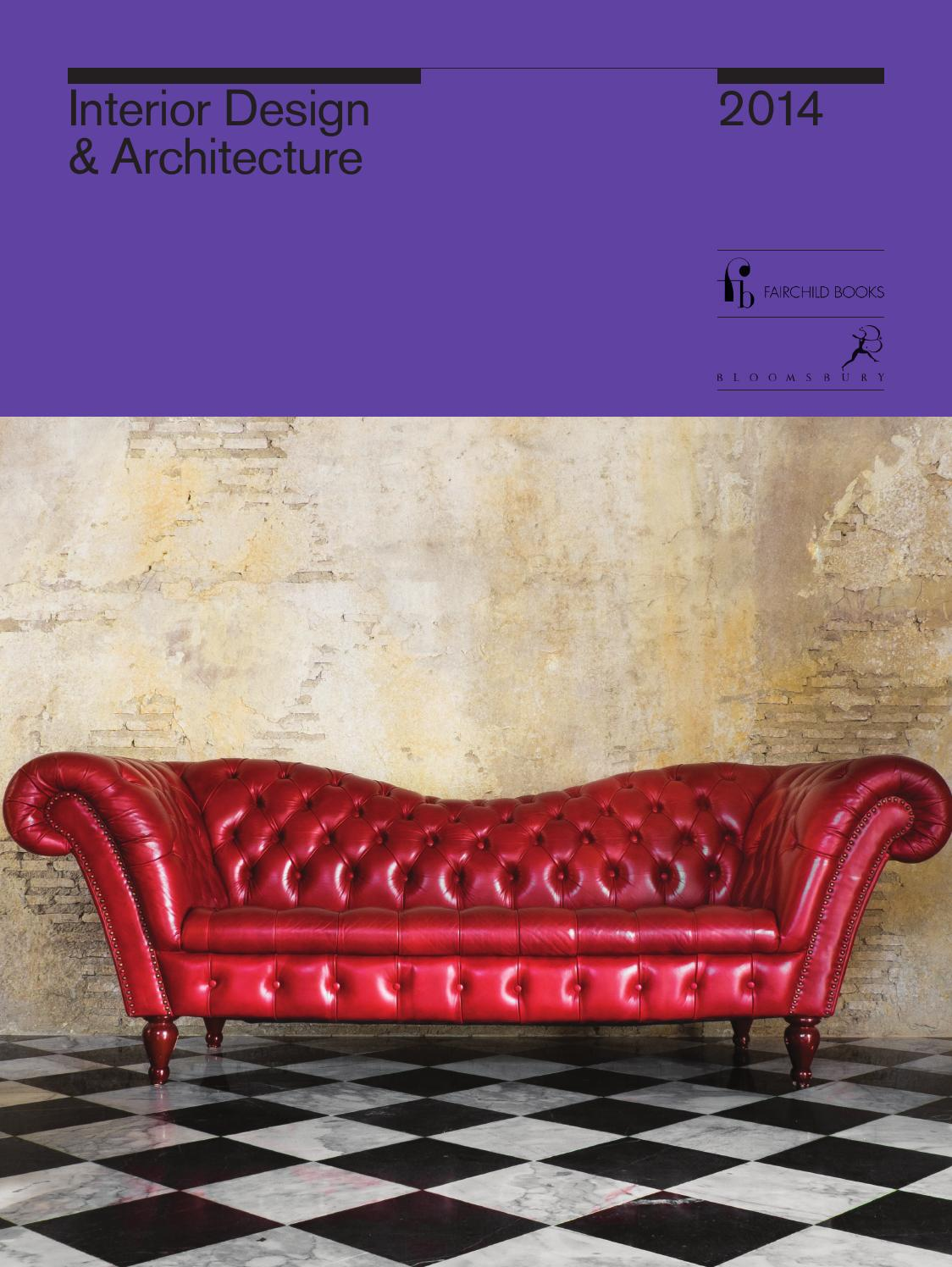 Interior Design And Architecture Catalogue 2014 By Bloomsbury Publishing