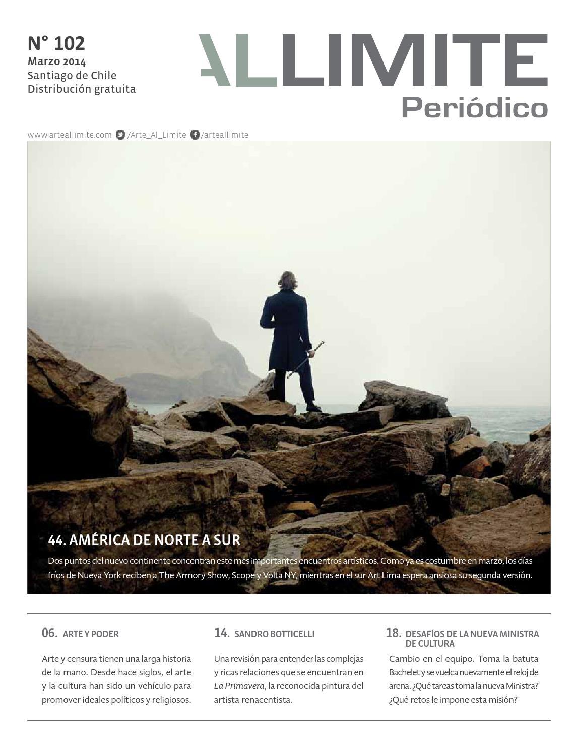 Periódico Arte Al Límite | Edición 102, marzo 2014 by Arte al Límite ...