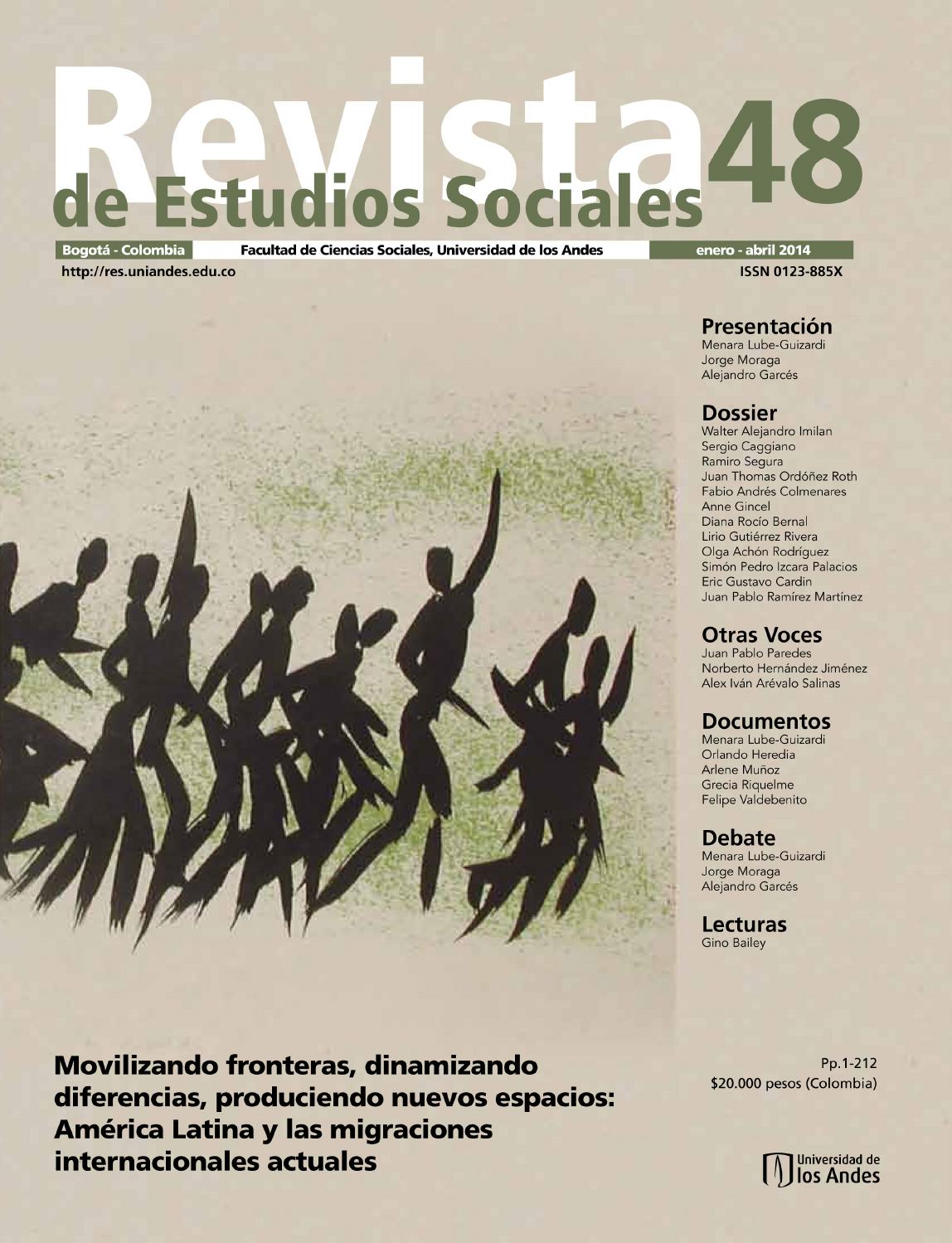 Revista estudios sociales no 48 by Universidad de los Andes - issuu ce8fcd723df75