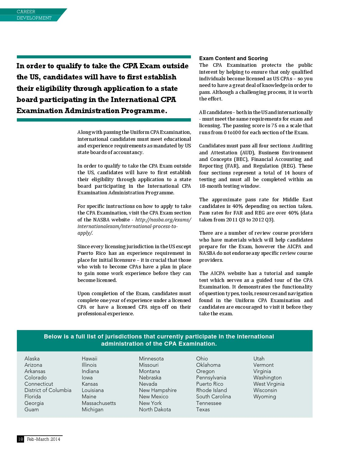 Accountant Middle East - March 2014 by CFO Middle East - issuu