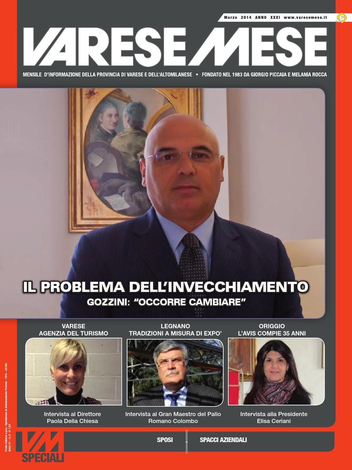 VARESE MESE MARZO 2014 by Varese Mese - issuu 84216d5a2cf7