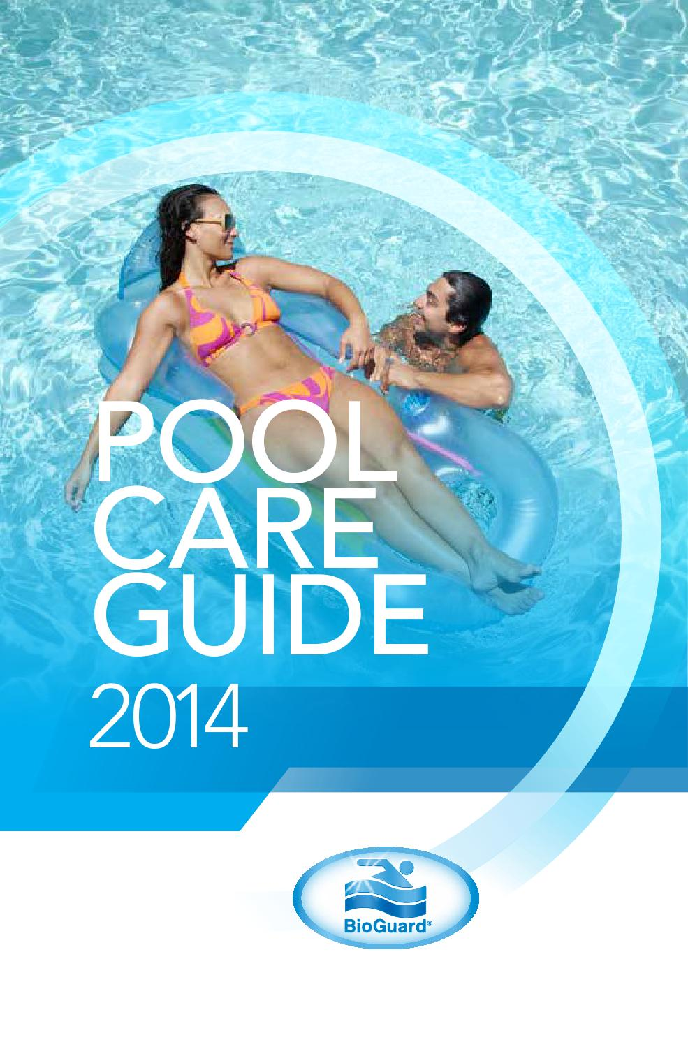 Bioguard pool care guide by biolab inc issuu for Pool maintenance guide