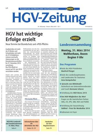 Dezember-Ausgabe der HGV-Zeitung by HGV-Service Genossenschaft - issuu