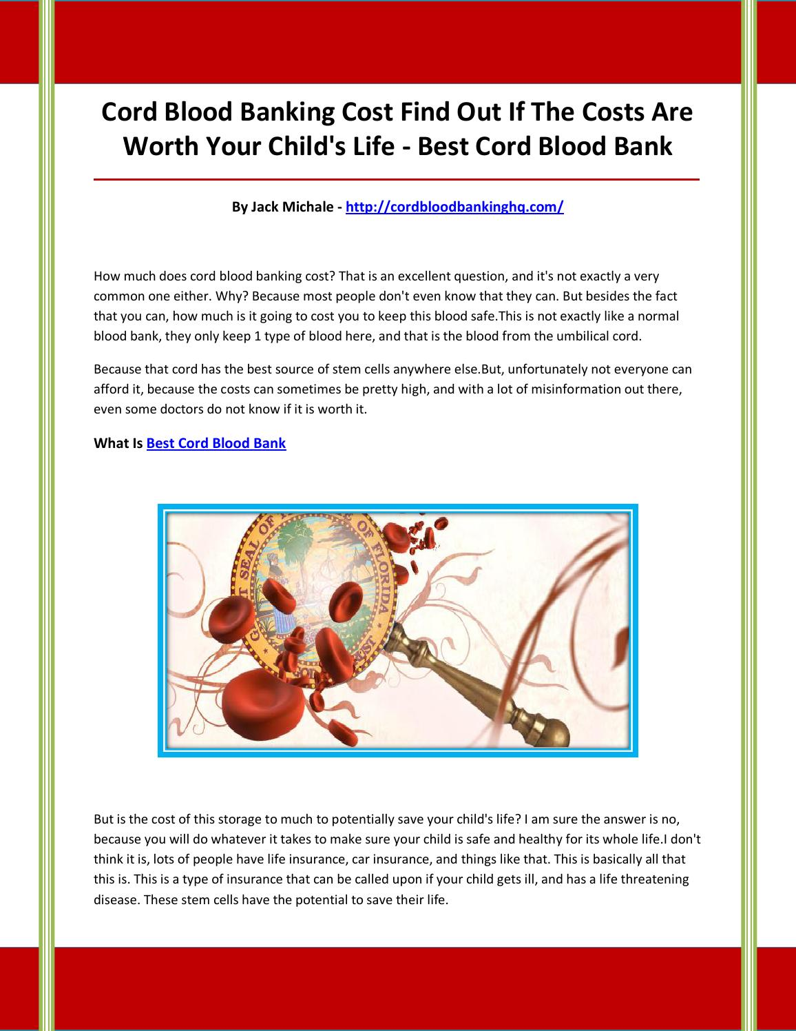 Cord Blood Banking Cost >> Best Cord Blood Bank By Vgfbvhgnbjgnbjbjk Issuu