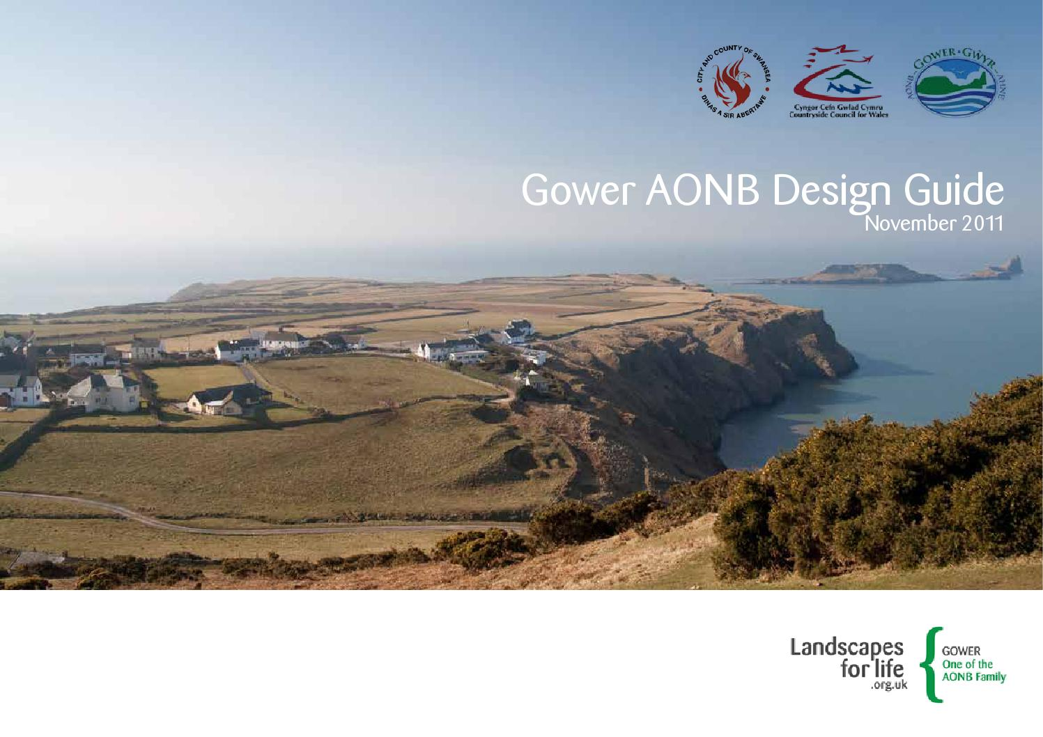 Gower AONB Design Guide By City And County Of Swansea