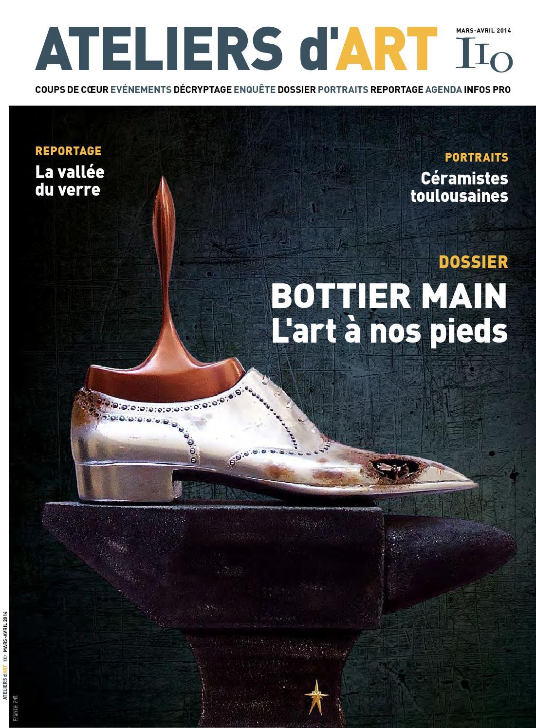 Magazine ateliers d 39 art 110 by ateliers d 39 art de france issuu - Ateliers d arts de france ...