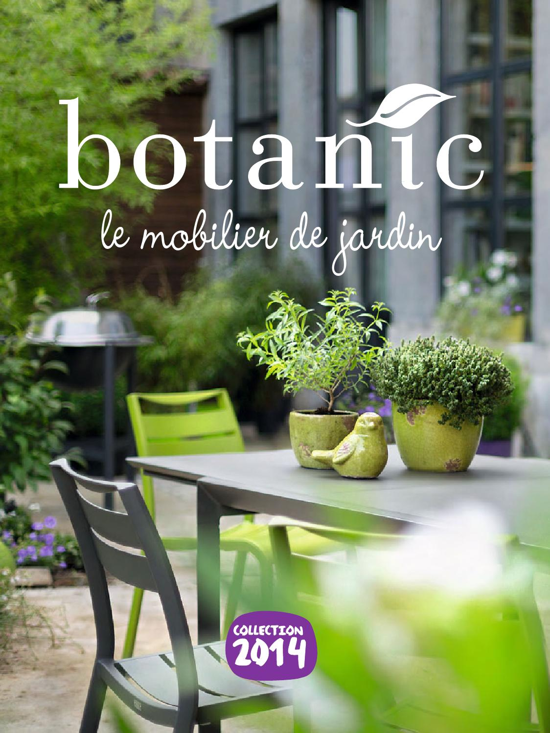 Catalogue Botanic - Le mobilier de jardin 2014 by joe monroe ...