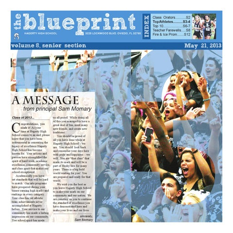 The blueprint volume 8 issue 6 senior section by hagerty the malvernweather Gallery