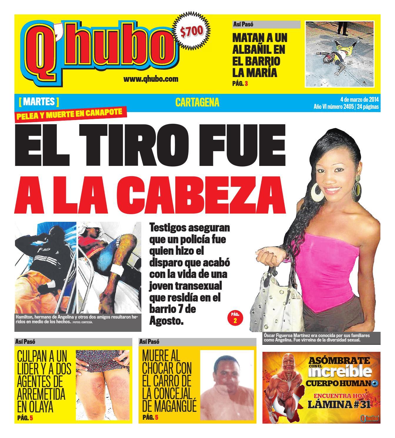 Candela X Y Estudiante Porno q'hubo cartagena 4 de marzo de 2014editora del mar - issuu