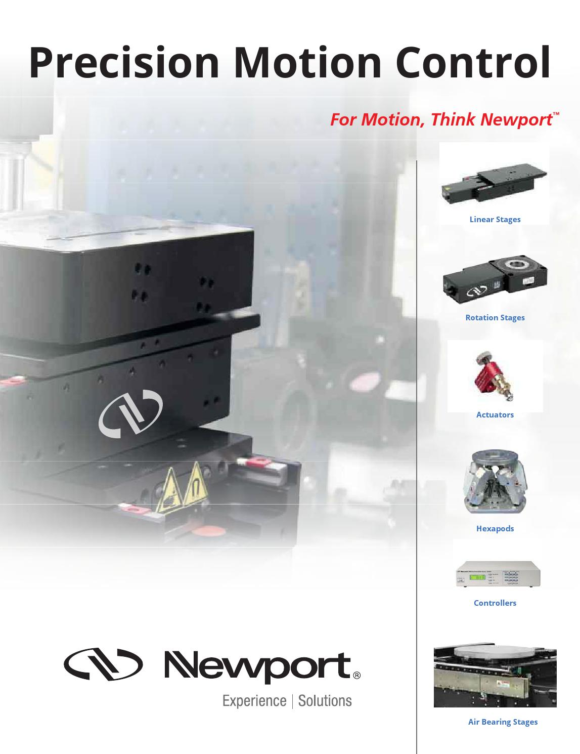 Precision Motion Control By Newportcorp Issuu Automations Gt Motor Circuits Pwm Controller L13512