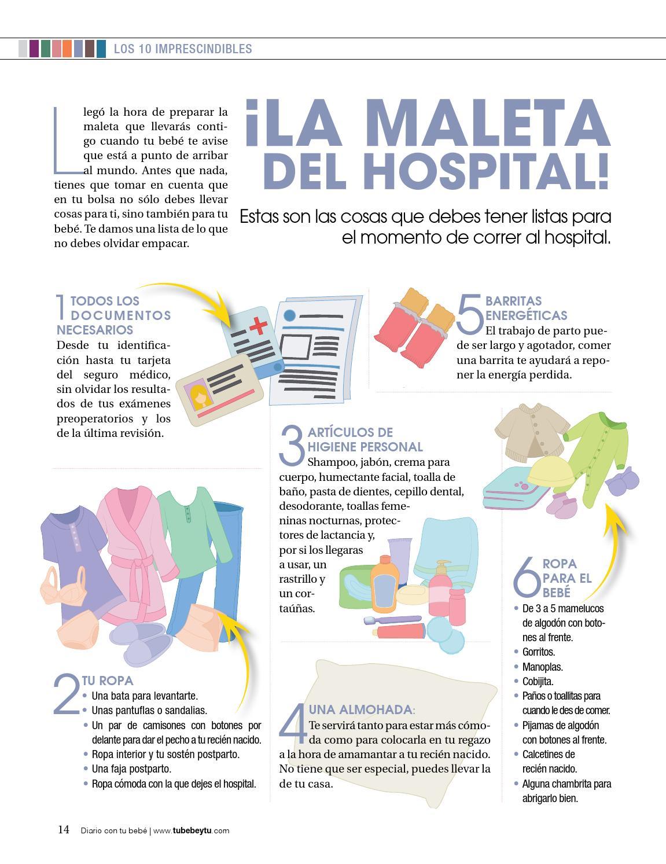 Lista De Cosas Para Bebes Recien Nacidos.Diario Con Tu Bebe By Tu Bebe Y Tu Issuu