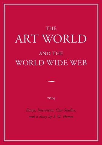 The Art World And The World Wide Web By ExhibitE Issuu - Pages invoice templates free kaws online store