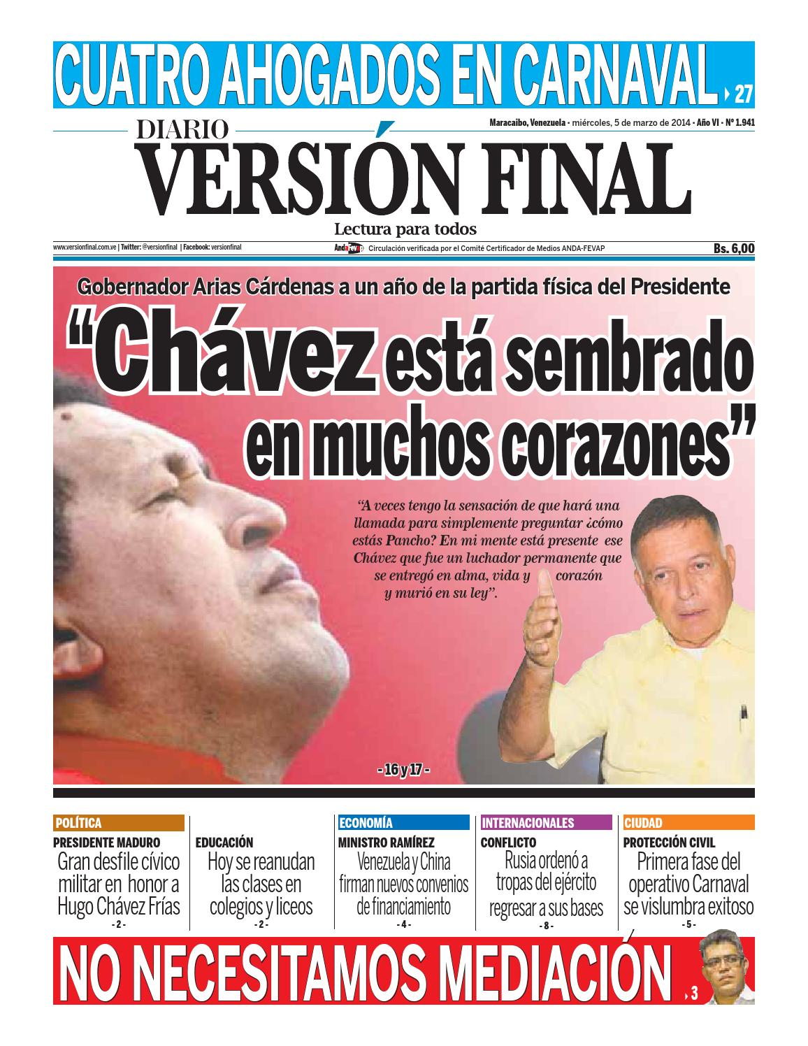 Diario Versión Final by Diario Versión Final - issuu