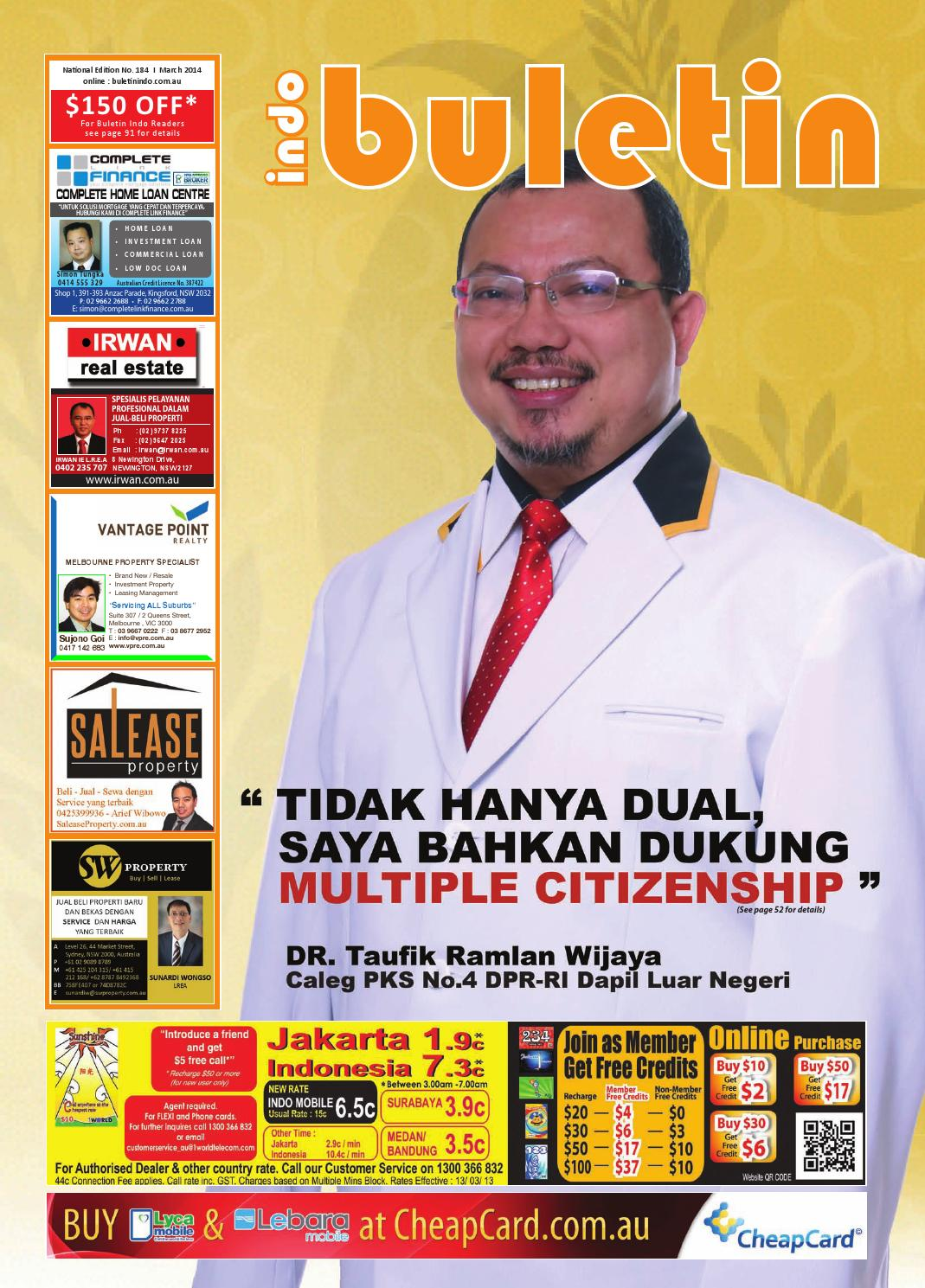 Buletin Indo March 2014 By Issuu Kebab Pisang Coklat Keju Champlo Sf