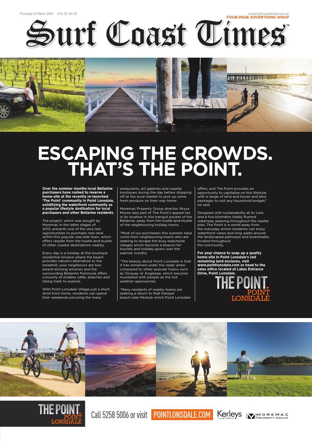 Surf Coast Times: March 6, 2014 by Surf Coast News Australia
