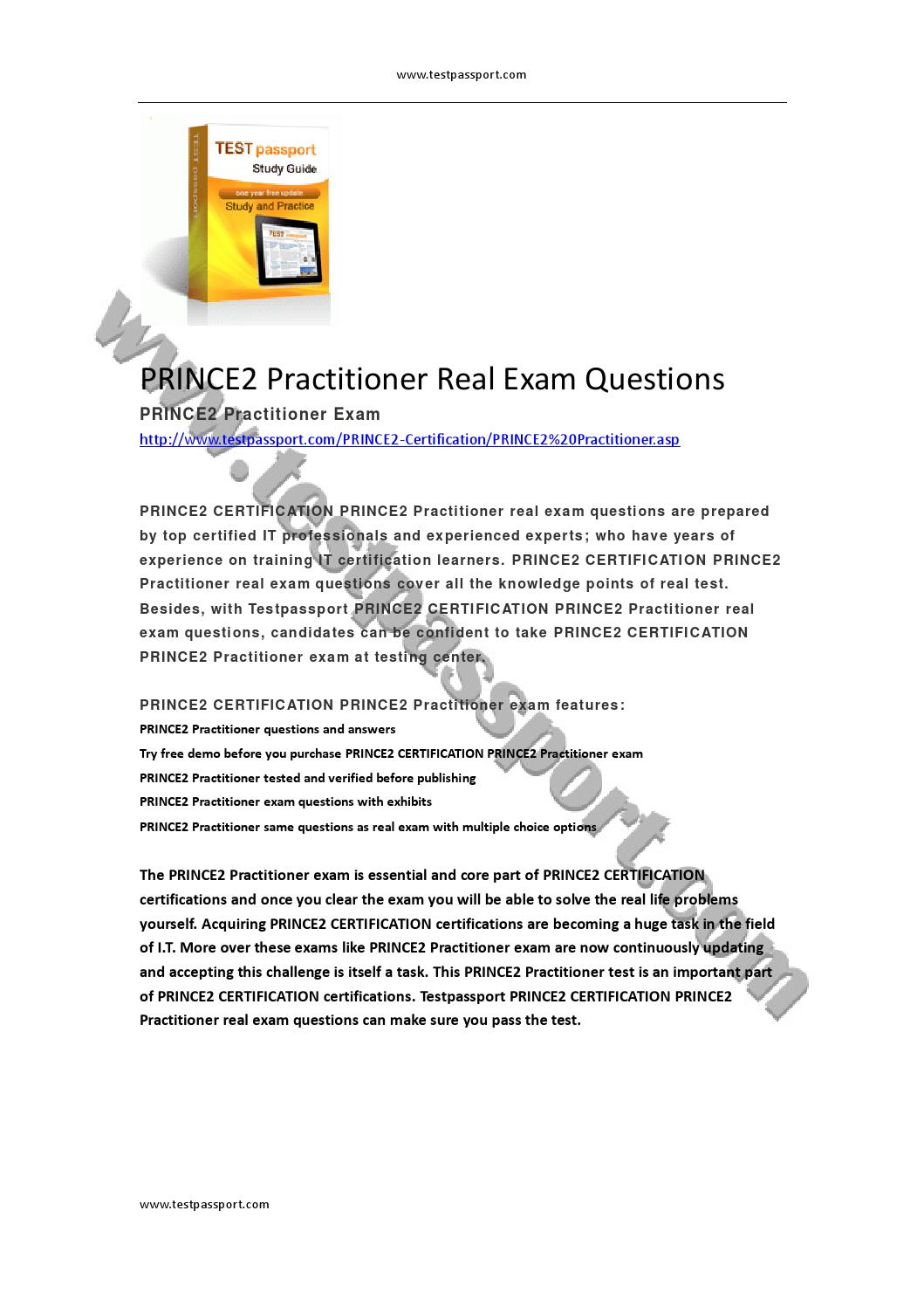 Prince2 practitioner real exam questions by susie smith issuu xflitez Images