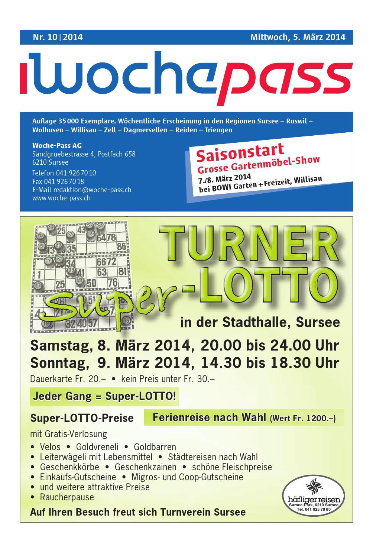 Woche-Pass | KW 10 | 5. März 2014 by Woche-Pass AG - issuu