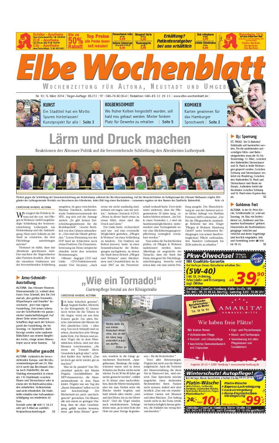 Altona Kw10 2014 By Elbe Wochenblatt Verlagsgesellschaft Mbh Cokg