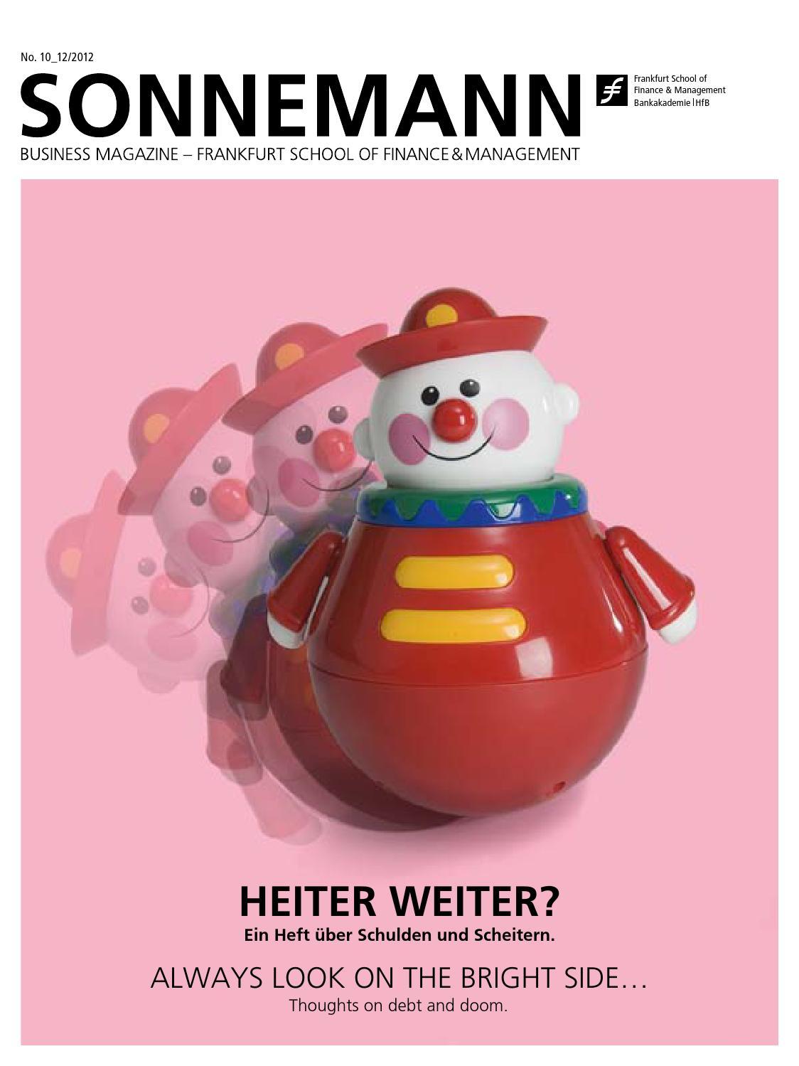 Sonnemann 10_12/2012 by Frankfurt School of Finance and Management ...