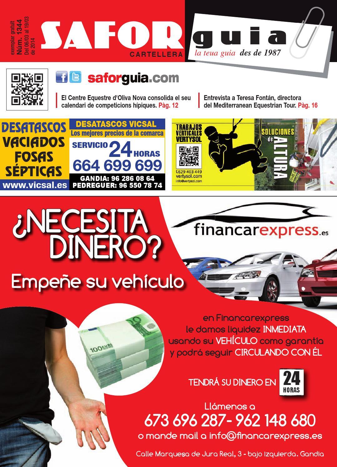 Publicaci N Del 6 Al 19 De Marzo De 2014 By Saforguia  # Muebles Peiro Quart De Poblet