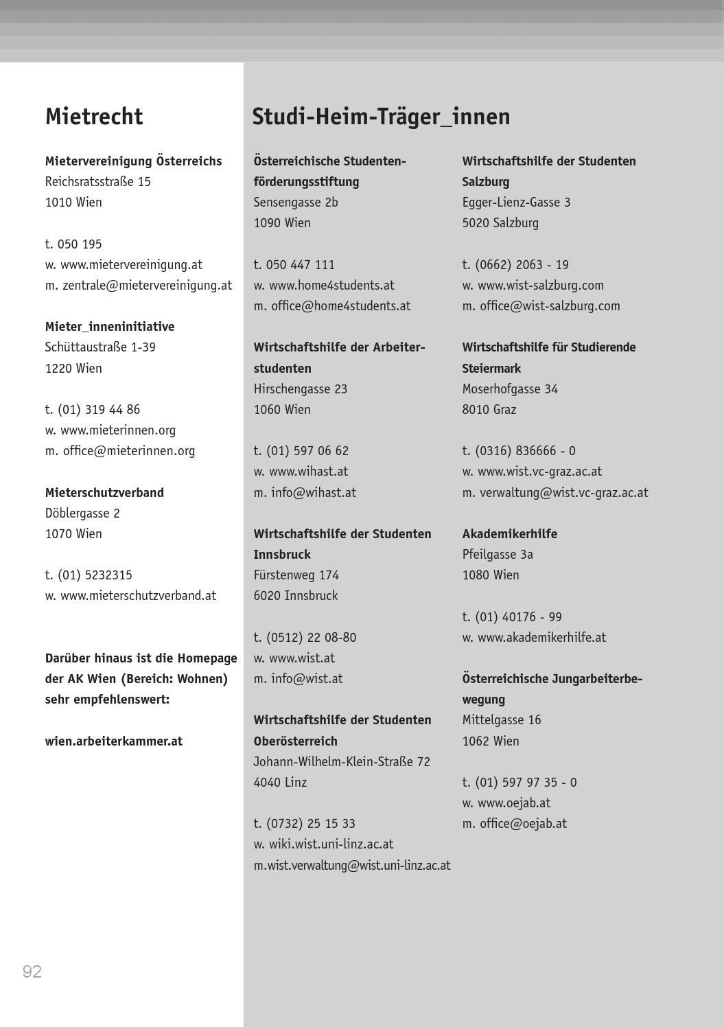 Vsstö Sozialbroschüre 2014 By Vsstö Bund Issuu