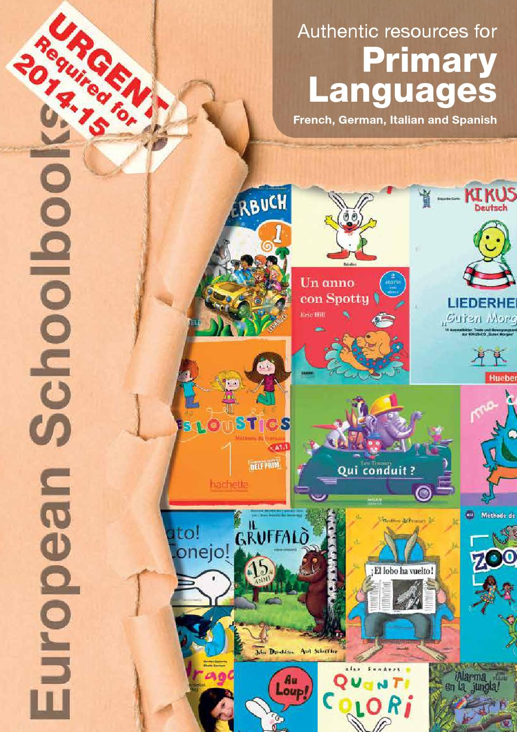 Primary Languages Catalogue 2014 by European Schoolbooks Ltd. - issuu
