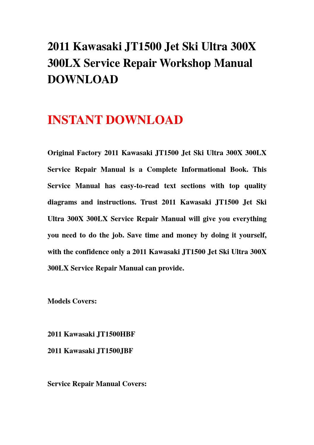2013 kawasaki ninja 300 service manual pdf
