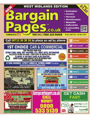45799666a84a Bargain Pages Midlands