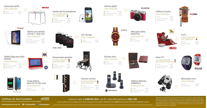 Cat logo de oportunidades y beneficios oro by cat logo dms for Catalogo puntos bp