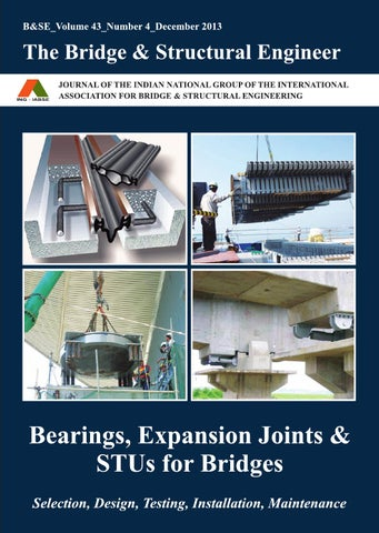 The Bridge Amp Structural Engineer December 2013 By Iabse