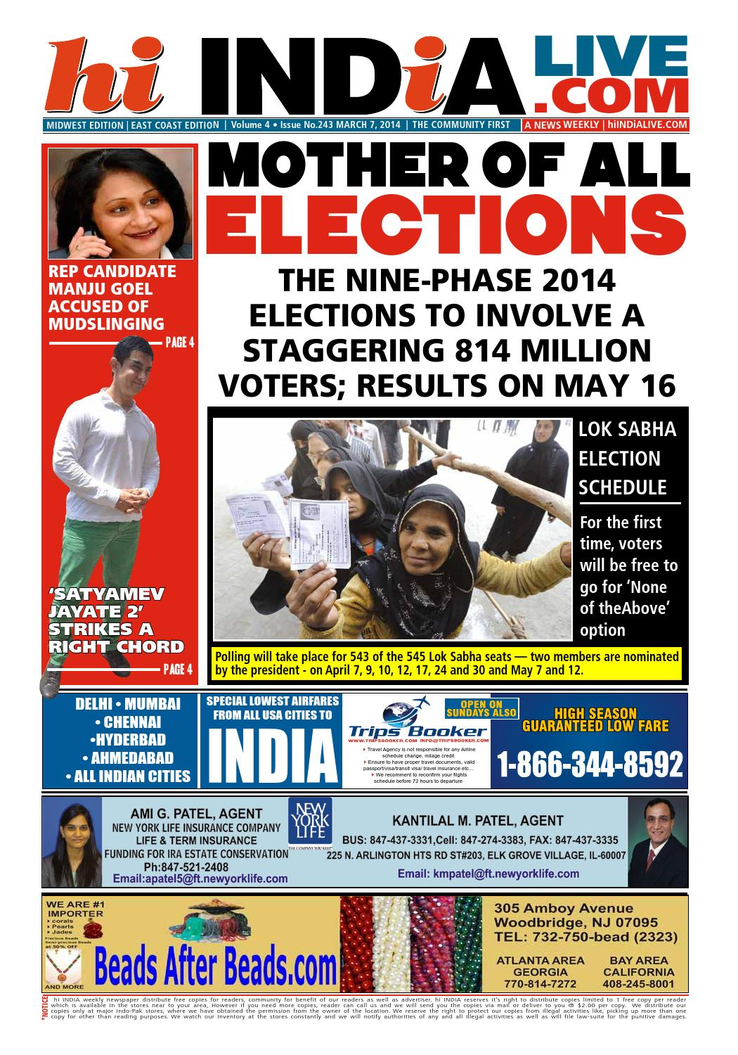 hi INDiA East Coast Edition 03 07 14 by hi INDiA Weekly - issuu