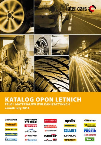 Katalog Opon Letnich 2014 By Intercars Sa Issuu