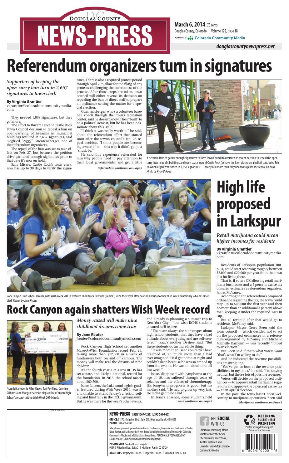 pretty nice efe1b 9b279 Douglas County News Press 0306 by Colorado Community Media - issuu