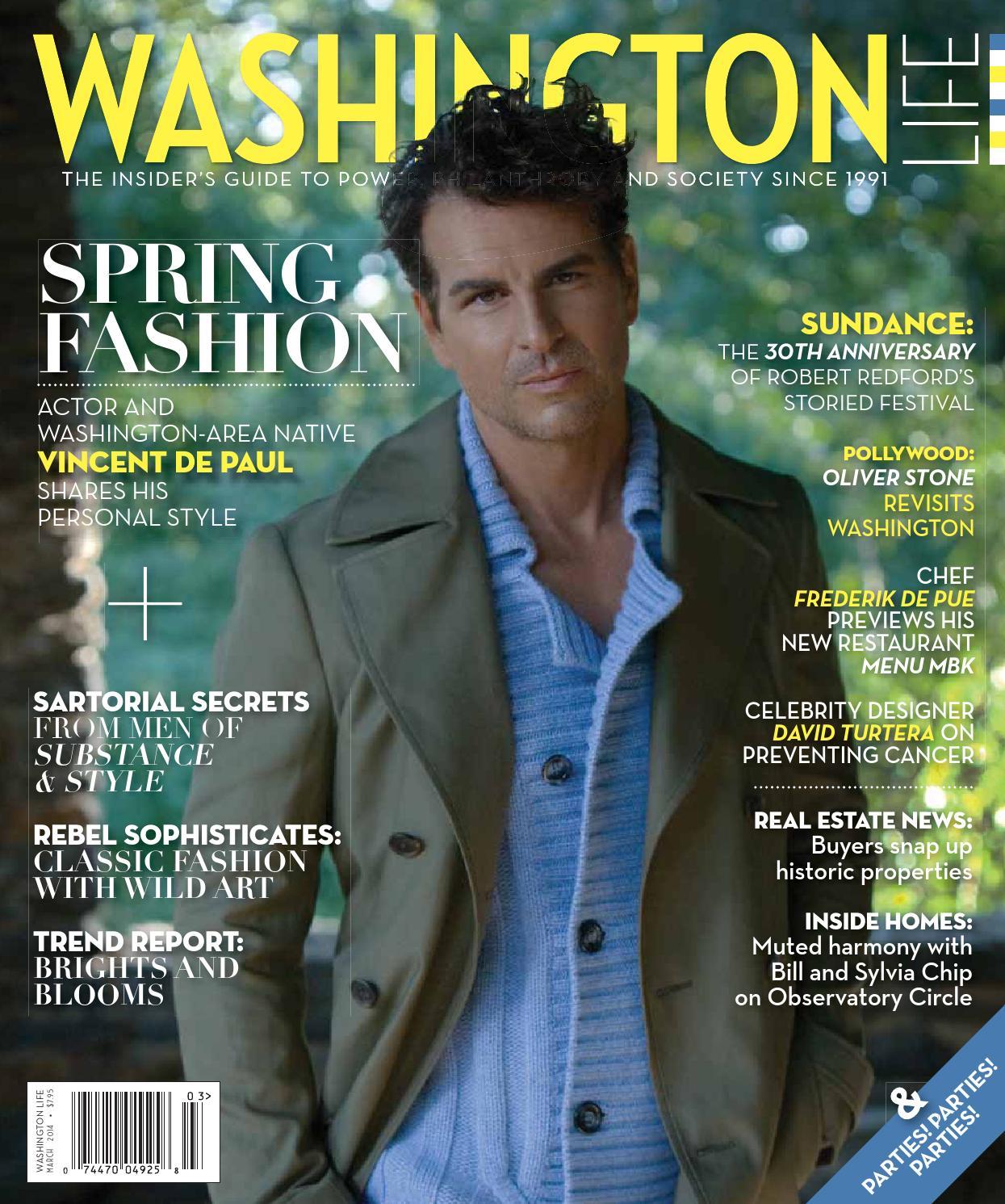 Washington Life Magazine March 2014 By Nicholas Keith Elizabeth 36mm Nk8106 Issuu