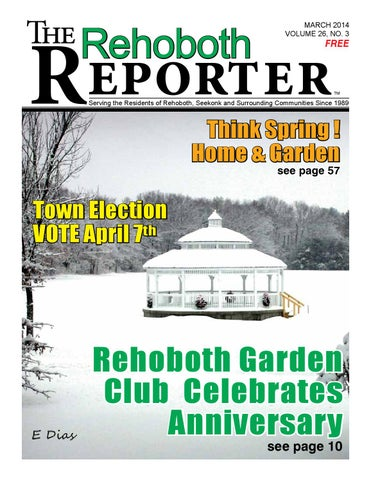 quality design 4277b 675e3 March 2014 Rehoboth Reporter