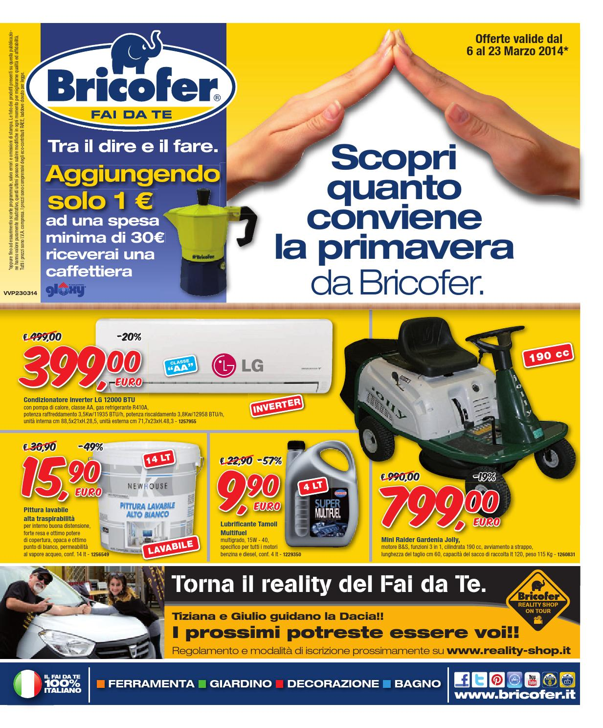 Bricofer 23mar by francesca issuu for Catalogo bricofer