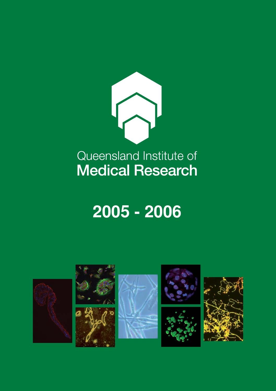 qimr annual report 20052006 by qimr berghofer medical
