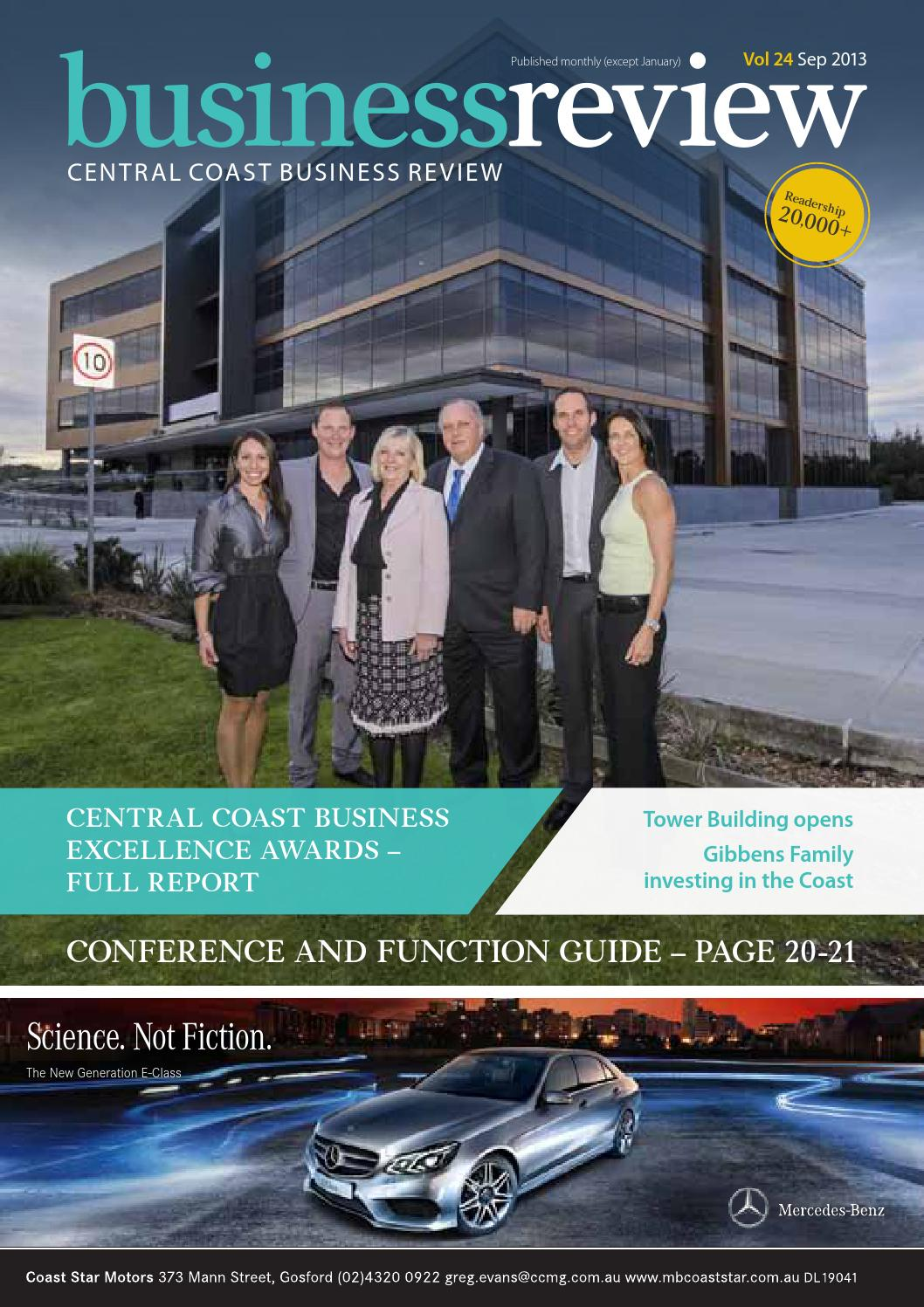Central Coast Business Review September 2013 by Central