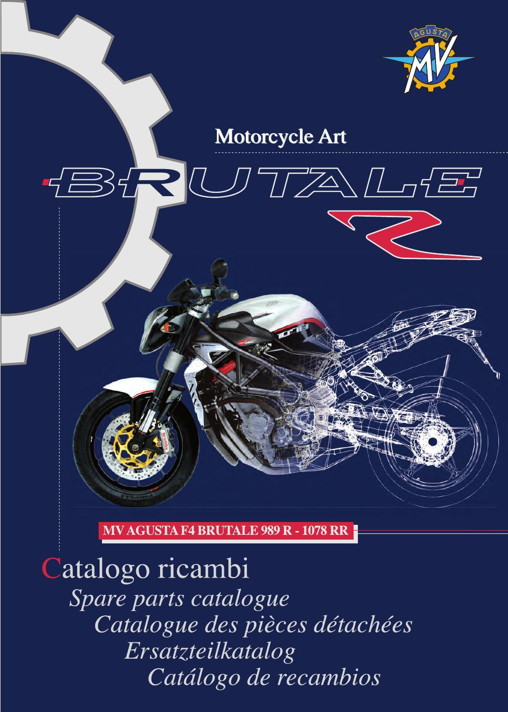 STICKER DE CHAINE MV AGUSTA F4 BRUTALE RR